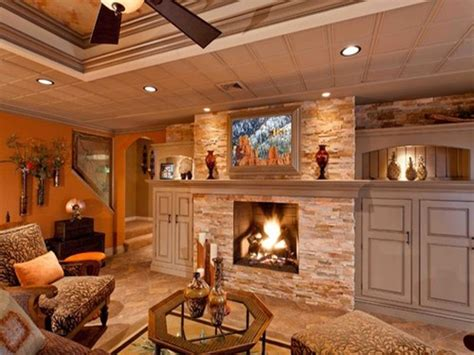 decorating ideas for a small house finished basement