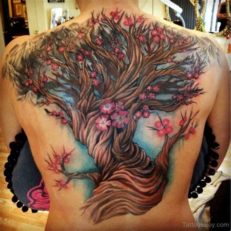 tree tattoo on back tree tattoos designs pictures page 3