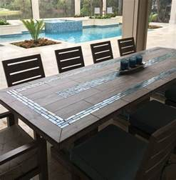 Patio Tile Table Best 25 Mosaic Tile Table Ideas On Tile Tables Garden Table And Mosaic Tiles