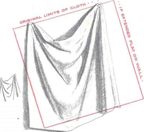 how to draw curtains gravity on drapery drawing drapery joshua nava arts