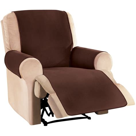 Fleece Recliner Cover by Waterproof Reversible Fleece Furniture Covers By