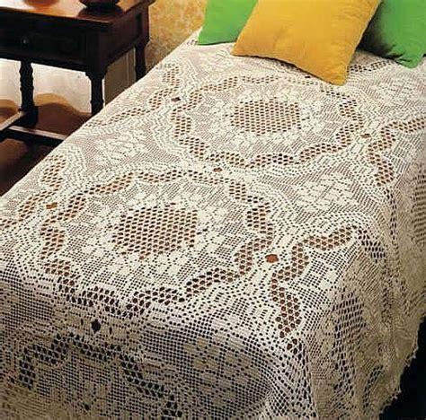 crochet bedspread crochet bedspreads tablecloths