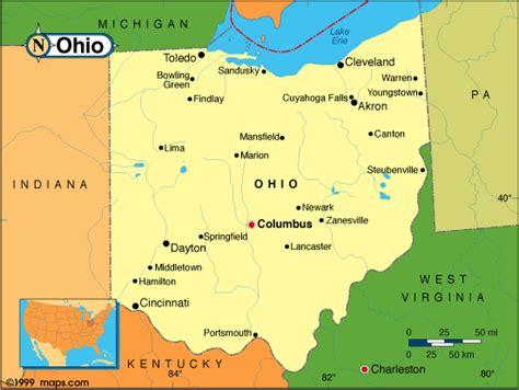 map of ohio cities cities in ohio map of ohio cities travelquaz