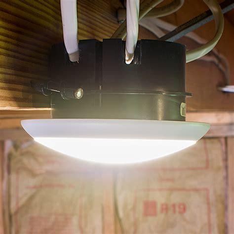 flush mount led can lights 5 1 2 quot flush mount led ceiling light 60 watt equivalent