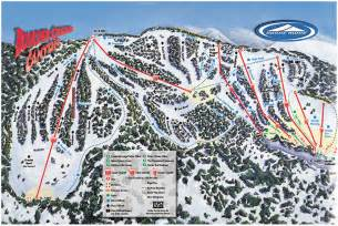 dodge ridge ski resort guide location map dodge ridge