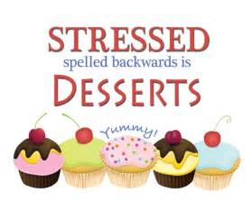 Cupcake Accessories For Kitchen - items similar to stressed spelled backwards is desserts 8
