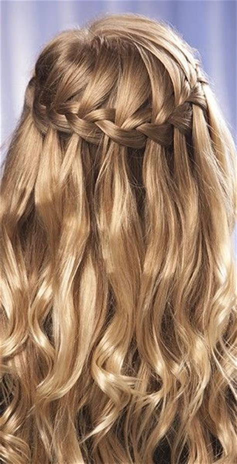 plaiting hair to grow it 17 best ideas about waterfall braid updo on pinterest