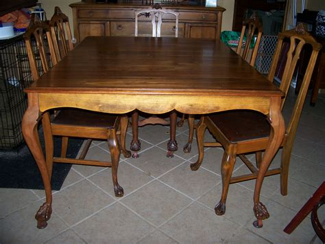 vintage dining room furniture vintage dining room table and chairs 12246