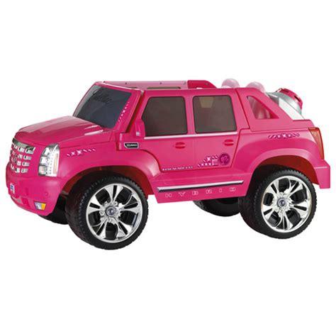 power wheels pink cadillac escalade power wheels 174 cadillac 174 escalade custom edition