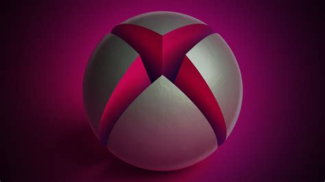 background themes xbox one x1bg giant xbox sphere pink dark martin crownover