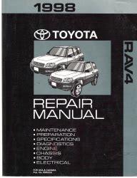 service manual motor auto repair manual 1998 toyota tacoma free book repair manuals service 1998 toyota rav4 factory service manual