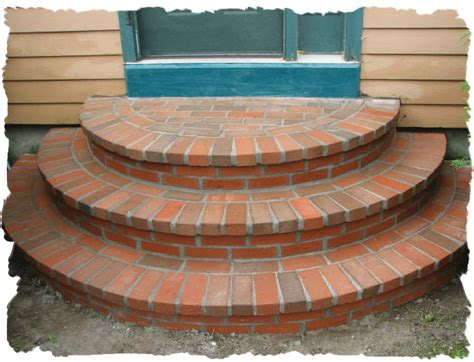 Brick Stairs Design Rl Sanborn Masonry Maine Masonry Steps And Stairs Contractor