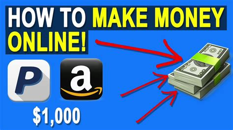 Make Money Online With Paypal - how to get free paypal money how to make money online free money 2017 youtube