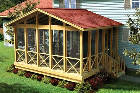 project plan 90008 covered screen porch