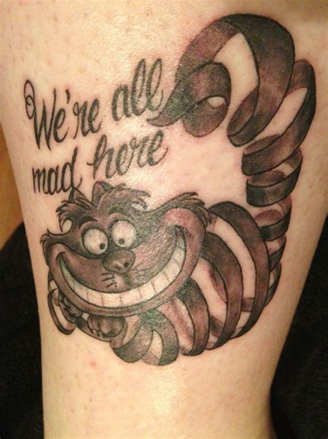 mad tattoos designs my cheshire cat and favorite tatts