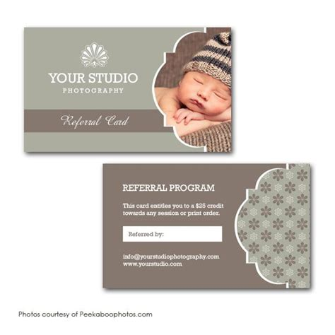 referral card template photography squijoo referral card template photography tips