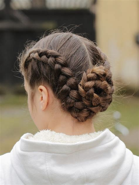 black french braid bun cute and chic hairstyles for humid weather aelida