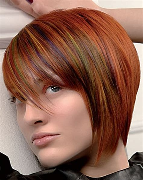colorful haircut short hair colour ideas 2012 2013 short hairstyles