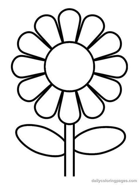 coloring pictures of flowers coloring flower pictures flower coloring page