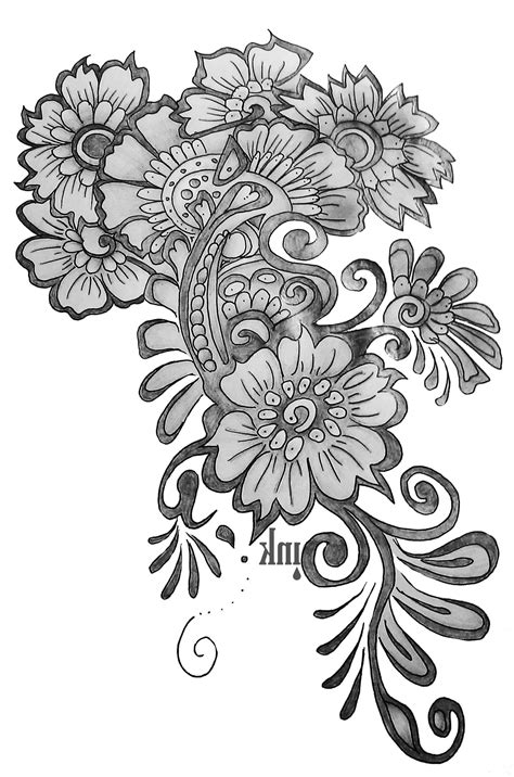 pencil flower designs designs for pencil drawing pencil