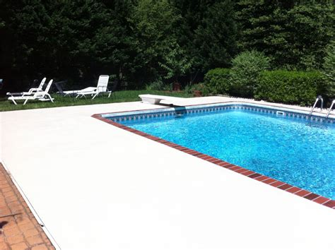 pool deck paint concrete