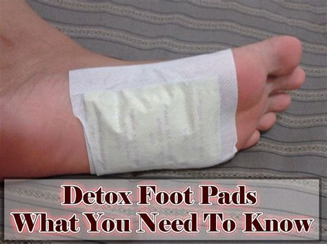 How To Use Foot Detox Pads by Detox Foot Pads What You Need To Crafts And