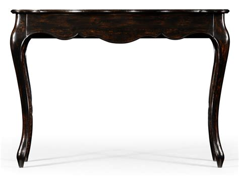 french provincial sofa table french provincial style distressed black painted console table