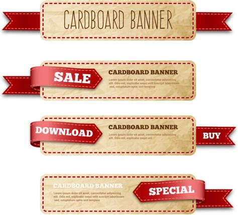 label design cdr free download free vector banner ribbon images free vector download