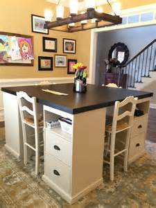 Home Decorators Craft Table 12 Awesome Diy Craft Tables With Free Plans Shelterness