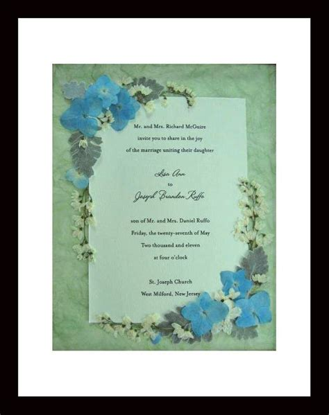 Wedding Invitation Keepsake