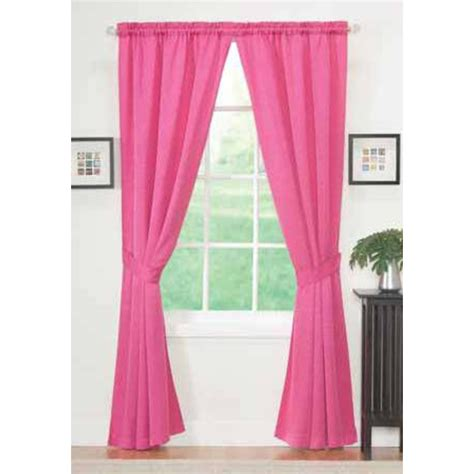 Pink Window Curtains Essential Home Sydney Panel Pair Pink Home Home Decor Window Treatments Hardware