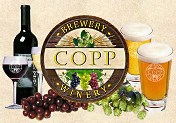 copp winery and brewery hours directions mobile page