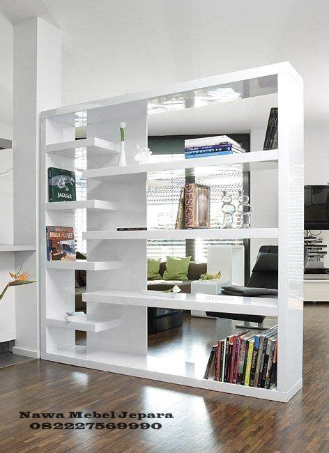 Penyekat Ruangan Dan Meja Tv rak buku penyekat ruangan unik terbaru jual meja dan