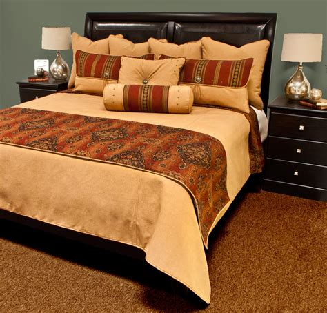 rust bedding kensington rust bedding set