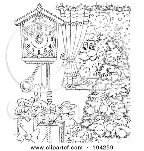 victorian christmas tree coloring page royalty free rf clipart illustration of a coloring page