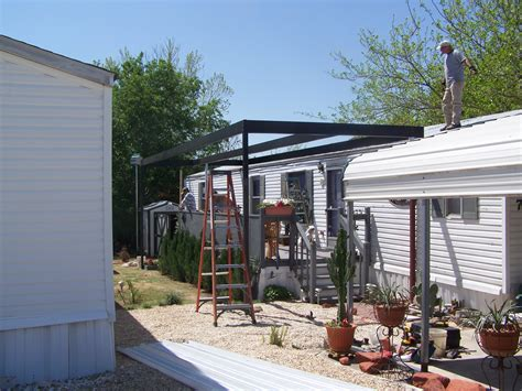 mobile home patio cover plans home plans
