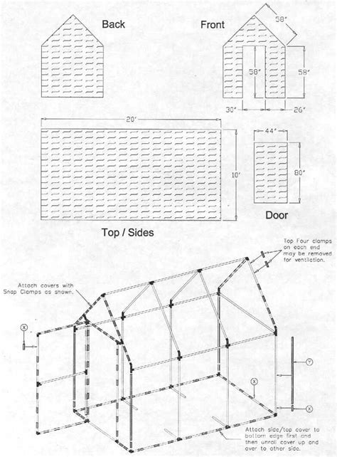 free green house plans free pvc greenhouse plans