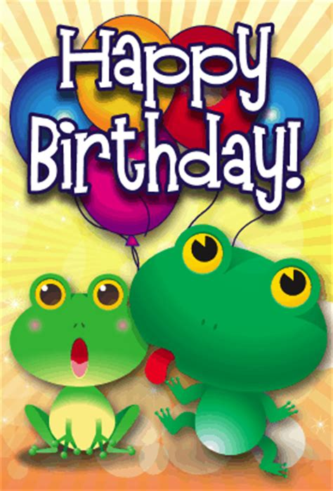 frog birthday card template frogs birthday card