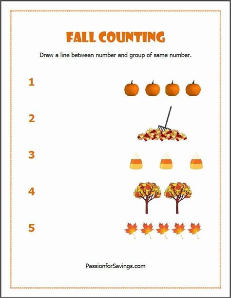 printable preschool fall activities free fall printables for kids