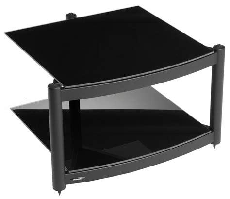 Hifi Shelf by Equinox Black 2 Shelf R S Hifi Stand