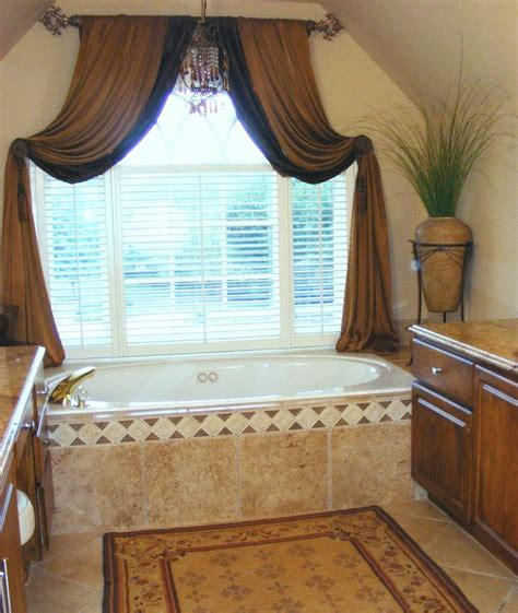 delightful window treatment ideas bathroom traditional