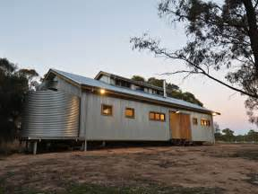 The australian history of the corrugated iron shed in the bush