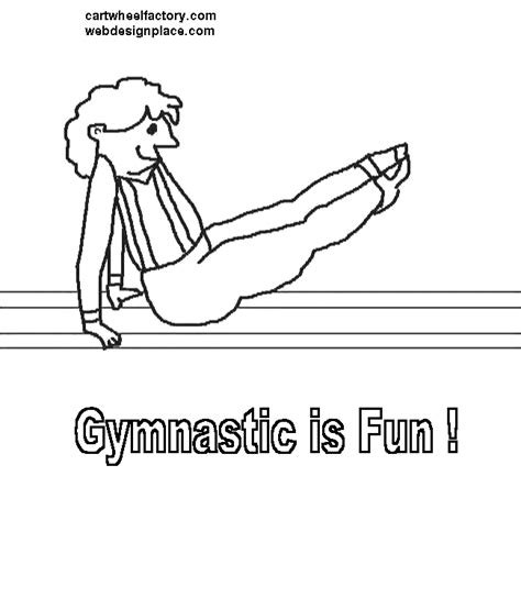 gymnastics positions coloring pages gymnastics positions coloring page