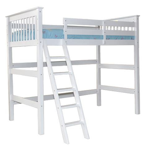 white loft bed for white humboldt loft bed children s furniture loft beds