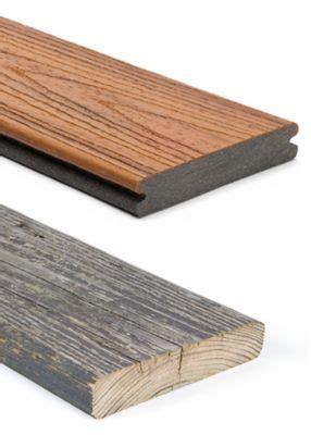 Composite Vs Wood Decking by Deck Material Competitor Comparison Trex