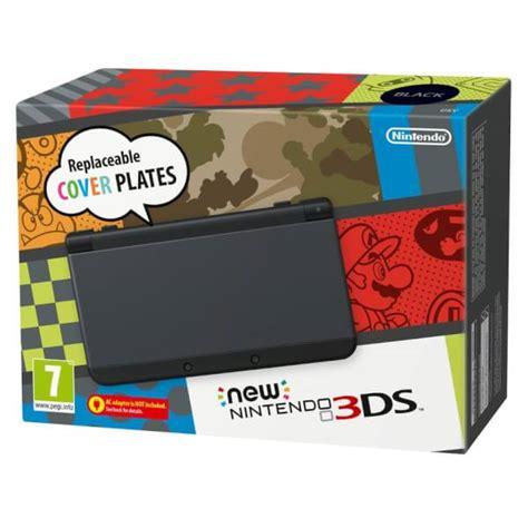new nintendo console new nintendo 3ds black nintendo official uk store