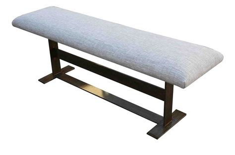 modern metal bench 66 best images about ottoman short stools benches on pinterest pouf ottoman