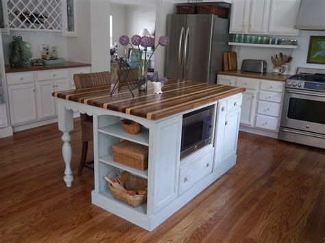 Cottage Kitchen Island Cynthia Cranes And Gardening Goodness Part 3 Ranch Home Makeover Cottage Kitchen Island
