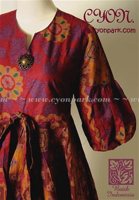 Dress Wanita Size S Pita Leher new batik collection butik shop tas pesta belt