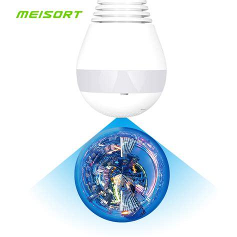 Cctv Bulb Panaromic 360 Degree Wifi Globe Vr Cloud Kamera bulb led light wifi ip wi fi fish eye 960p 360